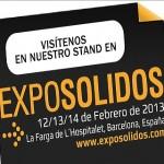 INDUSTRIAS CARDA Y PASTOR S.L. JUNTO CON SIMAC TECH SRL EN EXPOSOLIDOS 2013